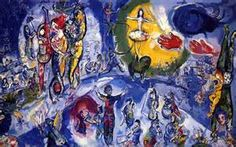 marc chagall, the circus paintings are my favorites