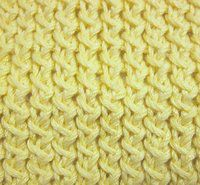 Have a Yarn - Stitch of the Month - Spa Cloths - The Textured Stitch - The Chinese Wave Stitch - The Waffle Stitch - November 2011