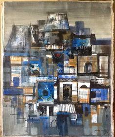 Brutalist, Philippines, Mid Century, Modernism, Signs, The Originals, Artist, Painting, Ebay