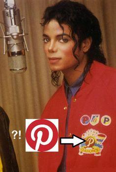 Was Michael Jackson the creator of Pinterest?!