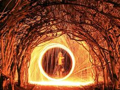 Steel wool photography with Canon EOS Rebel - how to tutorial. How to take steel wool effect photos with Canon EOS Rebel Which settings are best? Steel Wool Photography, Fire Photography, Photography Business, Creative Photography, Photography Lighting, Photography Ideas, Light Painting Photography, Types Of Steel, Light Trails