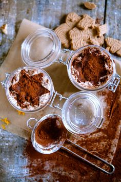 Speculat Tiramisu - the perfect Christmas dessert - Köstliche Desserts - Dessert Winter Desserts, Köstliche Desserts, Christmas Desserts, Delicious Desserts, Dessert Recipes, Yummy Food, Christmas Recipes, Parfait Recipes, Xmas Food