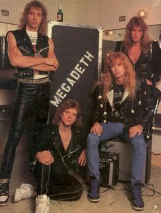 Megadeth 1986 the ultimate  line-up