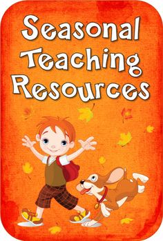 Seasonal Teaching Resources from Laura Candler - Updated with free resources for September including ideas for teaching about 9/11, International Dot Day, and Constitution Day