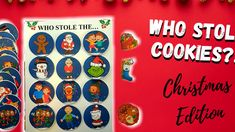 🎄 Who Stole the Cookies (Christmas Edition) | Kids Hide-and-Seek Rhyme Song Game 🎅 Who stole the (cookies, presents, or christmas stocking)? Was it the Elves? The Christmas Carolers? The adults? Enjoy hours of fun with your little ones with this simple fun Christmas holiday tableplay game!
