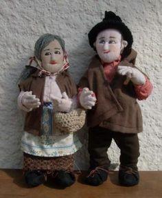 boneca tradicional bonecas de trapos tecidos escultura em tecido