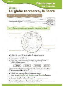 Librairie-Interactive - La Terre et le globe CE1-CE2