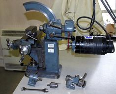 Nora Milling Machine - made by A. Nothelfer & Söhne, at Ravensburg in southern Germany. Milling Machine, Machine Tools, Metal Mill, Routeur Cnc, Homemade Lathe, Ideas Prácticas, Maker Shop, Tools Hardware, Antique Tools