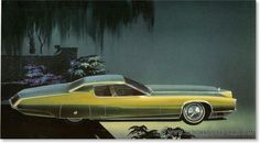 ca. 1960s cadillac concept,(c) gm co, inc