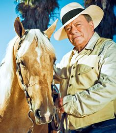 William Shatner w/ Horse. I knew his exercise rider back in the day in LA