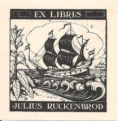 Ex libris by Anton Pieck