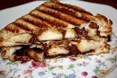 Croque Monsieur Nutella - Poire