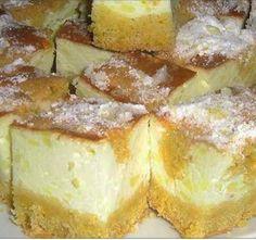 Hamis túrós, ez valami fantasztikus! - Blikk Rúzs Hungarian Desserts, Hungarian Recipes, Puff Pastry Dough, Torte Cake, No Bake Cake, Dessert Recipes, Food And Drink, Cooking Recipes, Yummy Food
