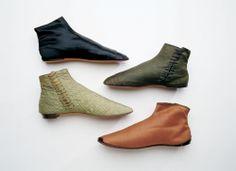 Various boots, 1830's, Bata Shoe Museum