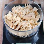 How to make easy shredded chicken in the slow cooker  APinchOfHealthy.com