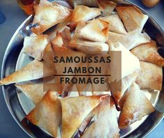 Cuillère, aiguille et scie sauteuse: Samoussas jambon fromage