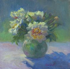 "The Sunshine Bouquet by Sue Wipf Oil ~ 10"" x 10"""