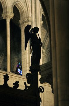 ANGEL OF NOTRE DAME, France
