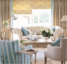 Casinha colorida: TOP 10: salas de estar em estilo cottage