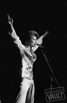 David Bowie Fine Art Printon 1973