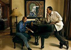 BERRY GORDY JR. AND SMOKEY ROBINSON The Soul Men Annie Leibovitz Photography, Berry Gordy, Detroit History, R&b Soul Music, Smokey Robinson, Quiet Storm, Lifetime Achievement Award, Lionel Richie, Oral History