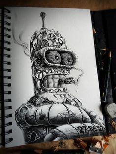 Distroy volume 2, illustrations par l'artiste PEZ