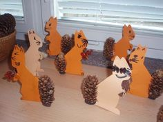 Bildergebnis für tvořeníčko s dětmi Animal Crafts For Kids, Fall Crafts For Kids, Diy For Kids, Kids Crafts, Autumn Crafts, Autumn Art, Nature Crafts, Fall Projects, Projects For Kids