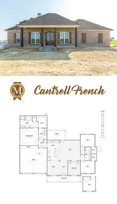 Cantrell French Living Sq Ft: 1,913 Bedrooms: 4 Baths: 2