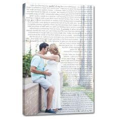 LOVE the look of personalized wall art? I can create the perfect canvas for your home with your pics and words.