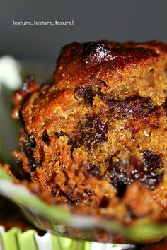 singapore shiok!: dark chocolate prune muffins (vegan and wheat free)