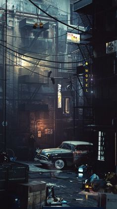 Chicago James O'Brien (Vadim Ignatiev) - Street photography Cyberpunk City, Cyberpunk Kunst, Vintage Wallpaper, City Wallpaper, Urban Photography, Street Photography, Graffiti Photography, Photo Backgrounds, Travel Photographie