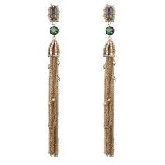 Cascading Crystal Tassel Clip Earring | Alexis Bittar
