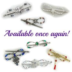 Have you checked out the new products in the Lilla Rose store lately? So many beautiful flexi clips to choose from! Which is your favorite? http://lillarose.biz/rrobinson