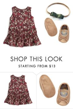 """Floral Dress"" by babiesswardrobe ❤ liked on Polyvore featuring Burberry"