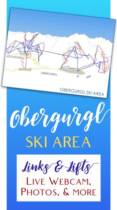 The skiing at Obergurgl is at a high altitude on the border between Austria and Italy. Find out more about the two linked ski areas, how to get there and where to stay. Ski Austria, Got Map, See Photo, Skiing, Maps, Learning, Photos, Ski, Pictures