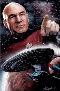 Captain Jean Luc-Picard Captain of U.S.S Enterprise-E