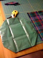 The Green Phone Booth: How To Make Reusable Sandwich Wrap/Snack Bag