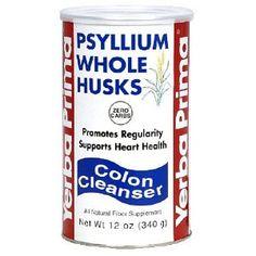 #5: Yerba Prima Psyllium Whole Husks, 12-Ounce