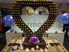 Burj al ferrero rocher stand birmingham heart stand available for kind of events wedding birthday etc