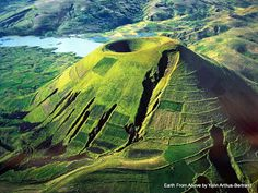 Ankisabe, Madagascar | Erosion on the side of a volcano, Madagascar