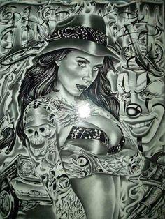 Art Chicano Tattoo Shit Brown Pride Crazy