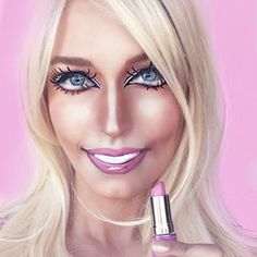 Barbie   Community Post: This Incredible Makeup Artist Can Transform Herself Into Anyone And...