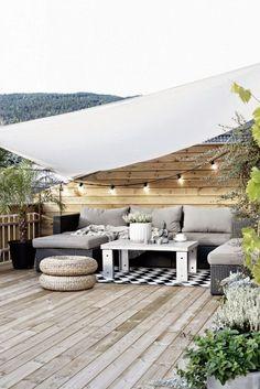 59 Ideas De Como Decorar Con Toldos Decoracion Terraza Toldo Diseño De Terraza