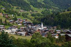 Le village d'Arêches