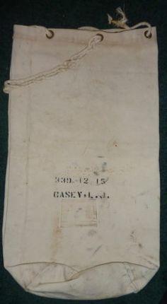 Navy Sea Bag - WWII? or Postwar