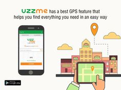 Now the search is easy, find the location with GPS feature on UzzMe. Download the App! #PlayStoreApp #UzzMe #GPS #SaveTime Play Store App, Google Play, Search, Phone, Easy, Research, Telephone, Searching, Mobile Phones