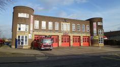 Edmonton Fire Station Fire Dept, Fire Department, Enfield Middlesex, Firefighter, Backgrounds, Passion, London, History, Architecture