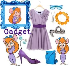 Gadget from the Rescue Rangers