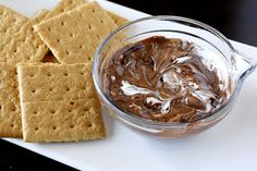 S'mores Dip - all the goodness of s'mores without the mess!
