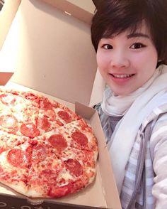 Beautiful #pizzaselfie!